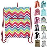 Small Drawstring Backpack Cinch Sack Travel Sling School Tote Gym Bag Dance Pack