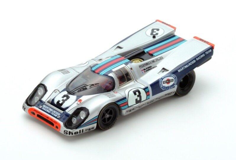 Porsche 917  3 Elford-Larrousse  Winner 12h Sebring  1971  Spark 1:43 / 43SE71