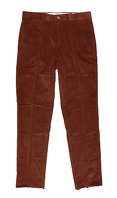 New Mens TAILORBYRD Nantucket Red Size 34 X 30 or 34 X 32 Flat Front Linen Pants