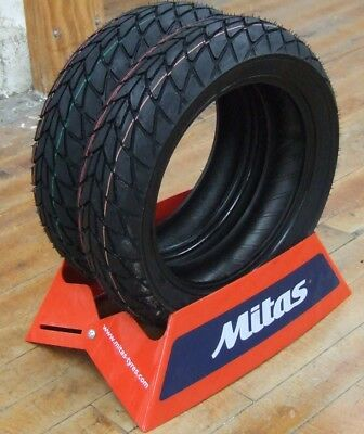 All Weather Tire >> Mitas Mc20 Monsum Scooter All Weather Tires Honda Grom Tires 120 70 12 130 70 12 Ebay