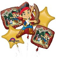 Jake And The Neverland Pirates Balloon Bouquet Birthday Party Decorations
