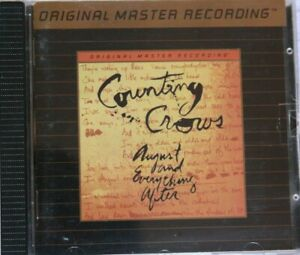 COUNTING-CROWS-AUGUST-AND-EVERYTHING-AFTER-CD-GOLD-24KT-MFSL-ULTRADISC-II-n664