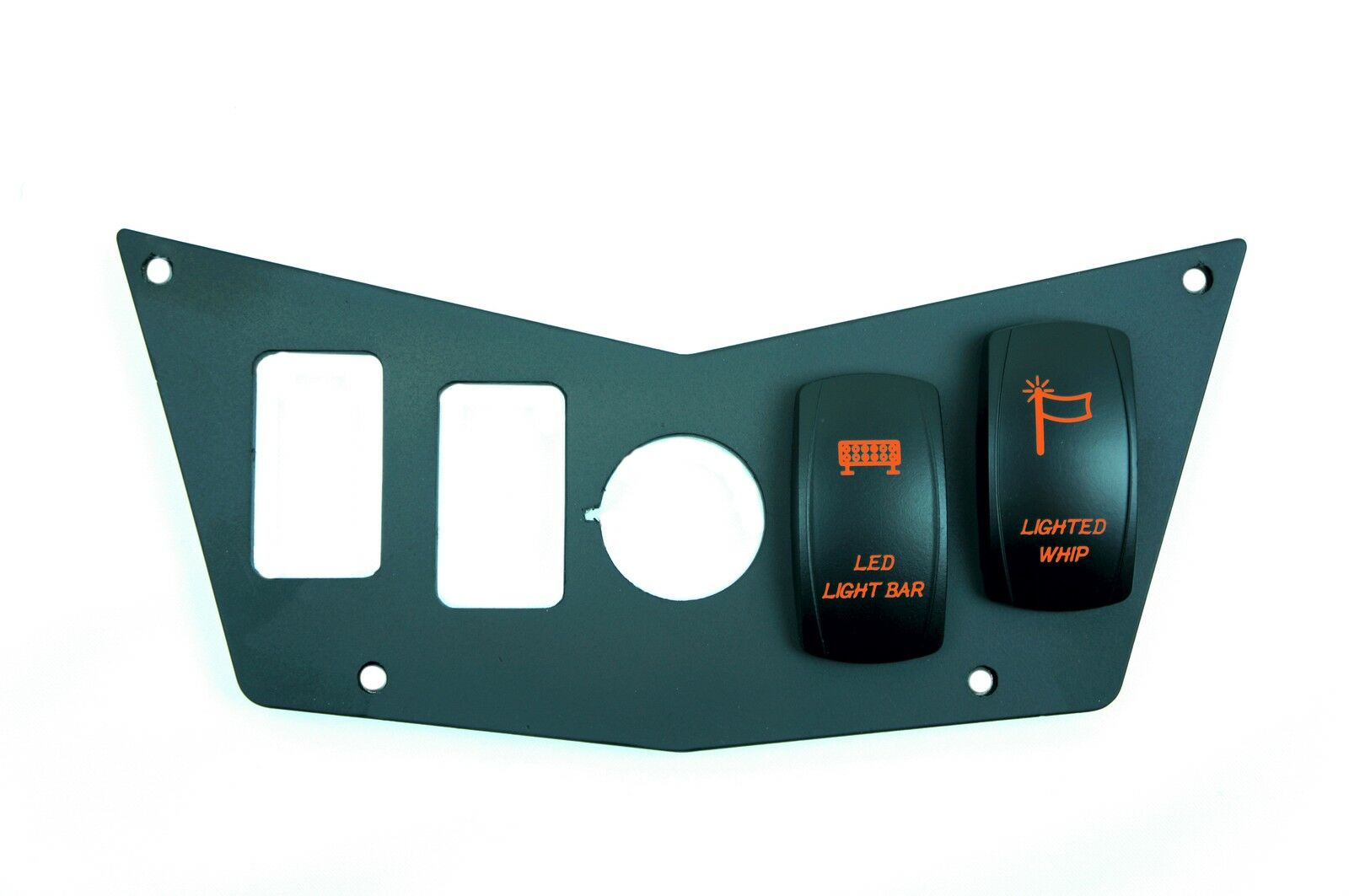 4 switch dash panel polaris rzr 570 800 900 xp 2008 2014 with 2 free switches ebay