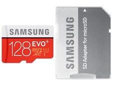 Samsung Evo Plus 16gb Microsd Micro Sdhc C10 Flash Memory Card W Sd