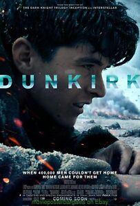 DUNKIRK MOVIE POSTER Mint Original DS 27x40 Final  Style 2017 Christopher Nolan