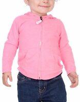 Kavio Unisex Infants Jersey Long Sleeve Zip Up Hoodie