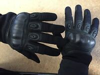 Rebel Tactical Magnum Hard Knuckle Gloves - Large (black)