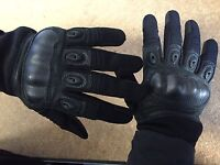 Rebel Tactical Magnum Hard Knuckle Gloves - Large (black)