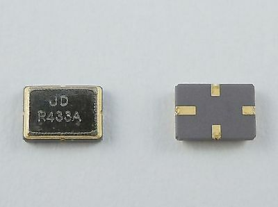 2Pcs New 433.92MHz SMD 5035 SAW Crystal Oscillator