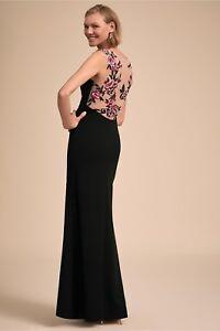 BHLDN-Aidan-Mattox-Black-Hansa-Gown-Rose-detail-NWT-Size-0-16-Retail-440