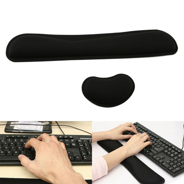AU Keyboard Wrist Rest Pad Mouse Gel Wrist Rest Support Cushion Memory Foam New