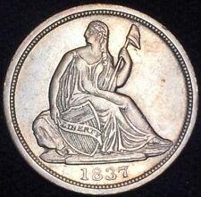 1837 H10C Liberty Seated Half Dime HC24815