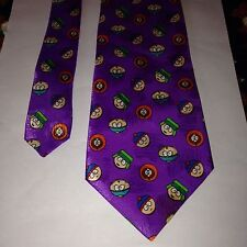 Character Novelty Rare Tie South Park Kenny Kyle Stan Chef 1999 Comedy Central