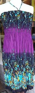 Purple dress skirt  flexible dress or skirt  summer dress  hippy boho skirt - <span itemprop='availableAtOrFrom'>Colwyn Bay, United Kingdom</span> - We hope you will be very happy with your purchase, but should you wish to return an item, please contact us. Returns will be accepted within 30 days and refunds issued once the item ha - Colwyn Bay, United Kingdom
