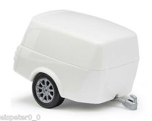 Busch-44994-Clever-Trailer-White-H0-Car-Model-1-87