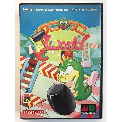 Sega Mega Drive WANI Wani WORLD JAP