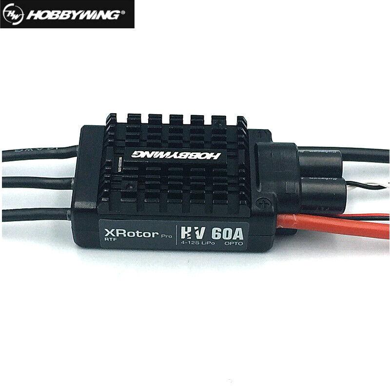 Hobbywing Xrossoor Pro Series 60A HV Electronic Speed Controller  Brushless ESC  elementi di novità