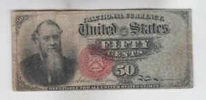 50-Cent-Stanton-Fourth-Issue-Fractional-Currency-Note-Paper-Bill