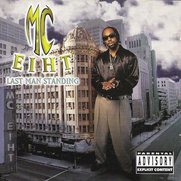 MC EIHT Last Man Standing (1997) CD