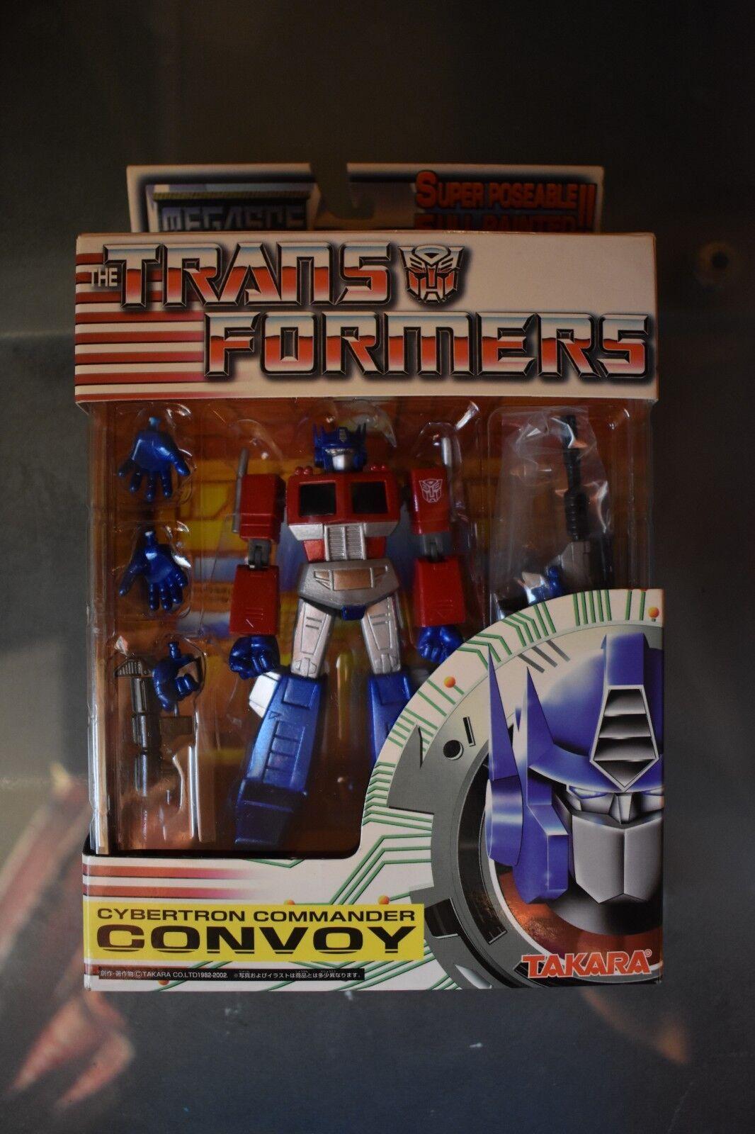 Optimus Prime   Convoy  MegaSCF  G1 Transformers Takara Cybertron Comuomoder NIB  grandi prezzi scontati