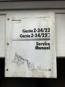 GENIE-SERVICE-Z-34-22-amp-Pieces-Manuel