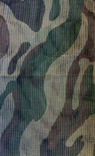 bufanda Red de malla camuflaje woodland tipo militar enmascarar equipo tactico