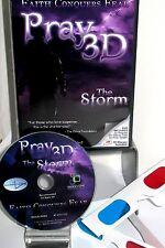 PRAY 3D ,THE STORM DVD  NEW, FREE SHIP, IN 3D & 2D STANDARD,FAITH BASED THRILLER