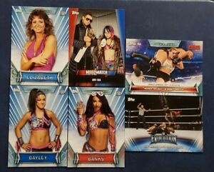2019-Topps-WWE-Women-039-s-Division-1-100-Evolution-Mixed-Match-Challenge-2-You-Pick