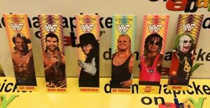 WWE-WWF-Coliseum-Video-Wrestling-Cards-Bookmarks-Promo-Lot-1996-97-Titan-Sports