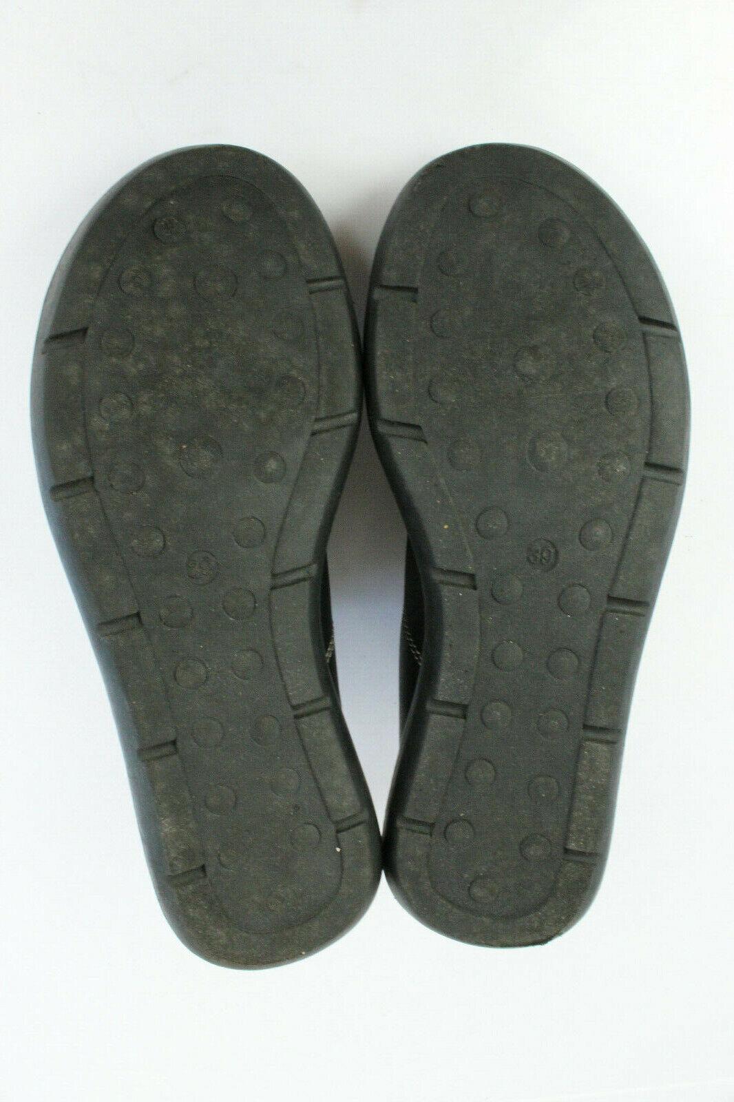 Oxfordschuhe Oxfordschuhe Oxfordschuhe BINOME schwarzes Leder T 39 UK 5,5 sehr guter Zustand bd494c