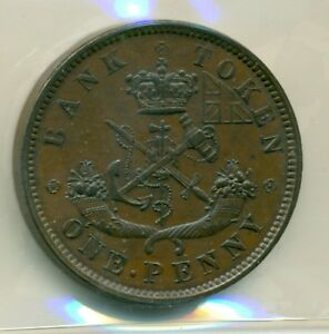 ICCS-Province-of-Canada-1850-Token-AU-55-CH-PC6A1-BR-719-XNB-710