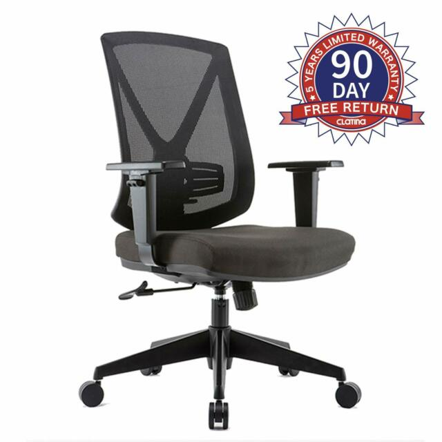 Office Directors Chair Lumbar Support Bad Pack Pain Adjustable Ergonomic Home For Sale Online Ebay