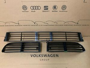 Audi 80 S2 Cabrio Coupe orig Gitter Blenden Stoßstange vorne 3 tlg 895853683B V6