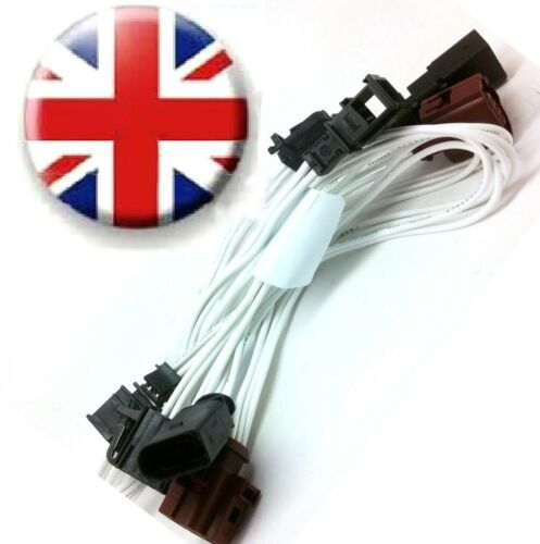 Audi A4 S4 B8 Limo RETROFIT HALOGEN LED REAR TAIL LIGHTS ADAPTER CABLE HARNESS