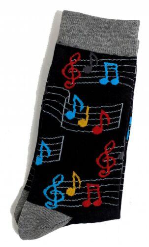 Homme musique musicien personnel Treble Clef Chaussettes 6-8.5 UK//39-42 EUR//7-10 US