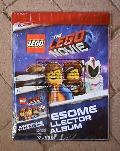 Lego Movie 2 VIP Awesome Collector Album w// VIP Card /& 3 Packs Trading Cards NEW