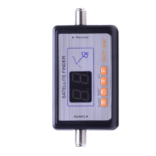 Satlink WS-6903 Digital Satellite Finder Meter TV Signal Finder LCD Display