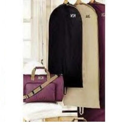 """SUIT DRESS GOWN or CHOIR ROBE Bag NWT Personalized Garment Bag 44 to 65/"""" Long"""