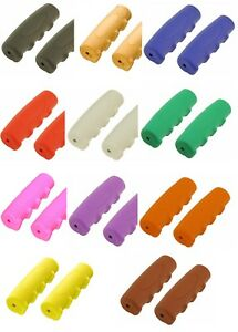 Glitter Bicycle Handlebar Grips Rubber ***8 COLORS AVAILABLE*** Scwhinn Style
