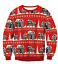 Red-UGLY-XMAS-CHRISTMAS-SWEATER-Vacation-Santa-Elf-Novelly-Women-Men-Sweatshirt