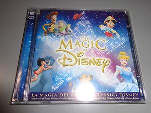 2-CD-THE-MAGIC-DE-DISNEY-LA-MAGIA-DE-GRANDES-CLASSICI