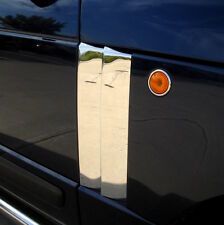 CHROME Supercharged style double 2 fin side vents for Range Rover L322 HSE vogue