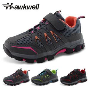 Site Officiel Kids Randonnée Trekking Chaussures Garçons Filles Antidérapant Baskets Hawkwell-afficher Le Titre D'origine