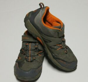 Merrell-Trail-Chaser-Hiking-Shoes-Sneakers-Youth-Gray-US-5