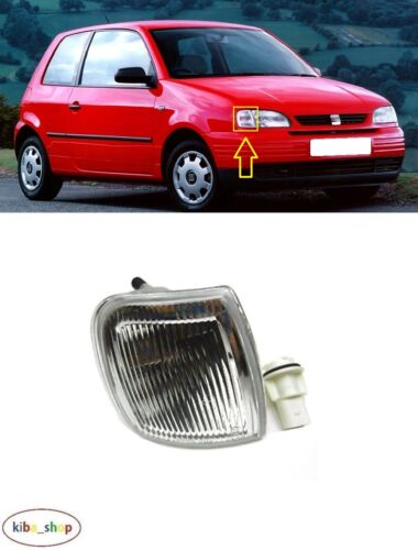 SEAT AROSA 6H 1997-2000 NEW FRONT HEADLAMP INDICATOR RIGHT O//S DRIVER WHITE