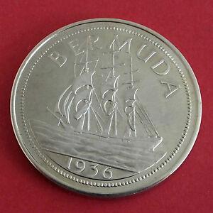 EDWARD-VIII-BERMUDA-1936-PLAIN-EDGE-PROOF-PATTERN-CROWN
