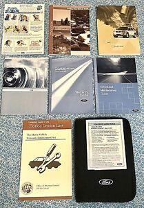 ford escape owners manual books oem set xls xltsport