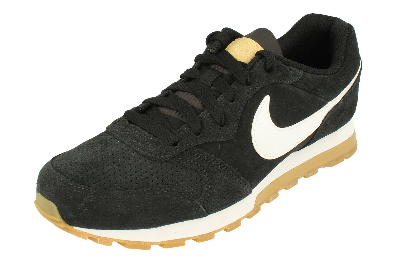 Nike Md Runner 2 Suede Mens Trainers Aq9211 Turnschuhe schuhe 001
