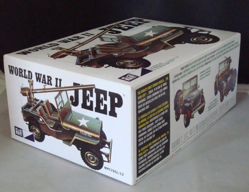 2012 Mpc 785 1 25 Seconda Guerra Mondiale Militare Jeep Kit Modello New in Box