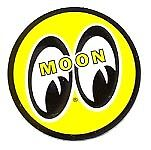Moon Eyes Official Racing Decal   D215